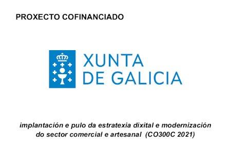 Proxecto cofinanciado Xunta de Galicia
